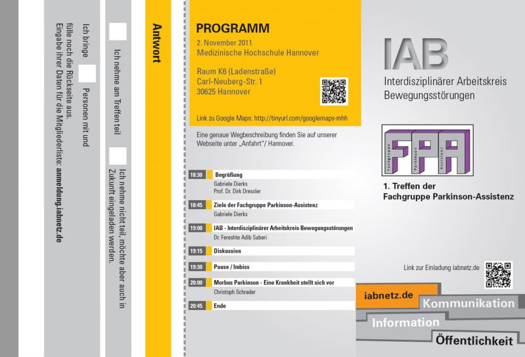 Bild Fachgruppe Parkinson-Assistenz Hannover