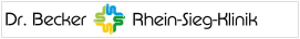 Logo Dr. Becker Rhein-Sieg-Klinik